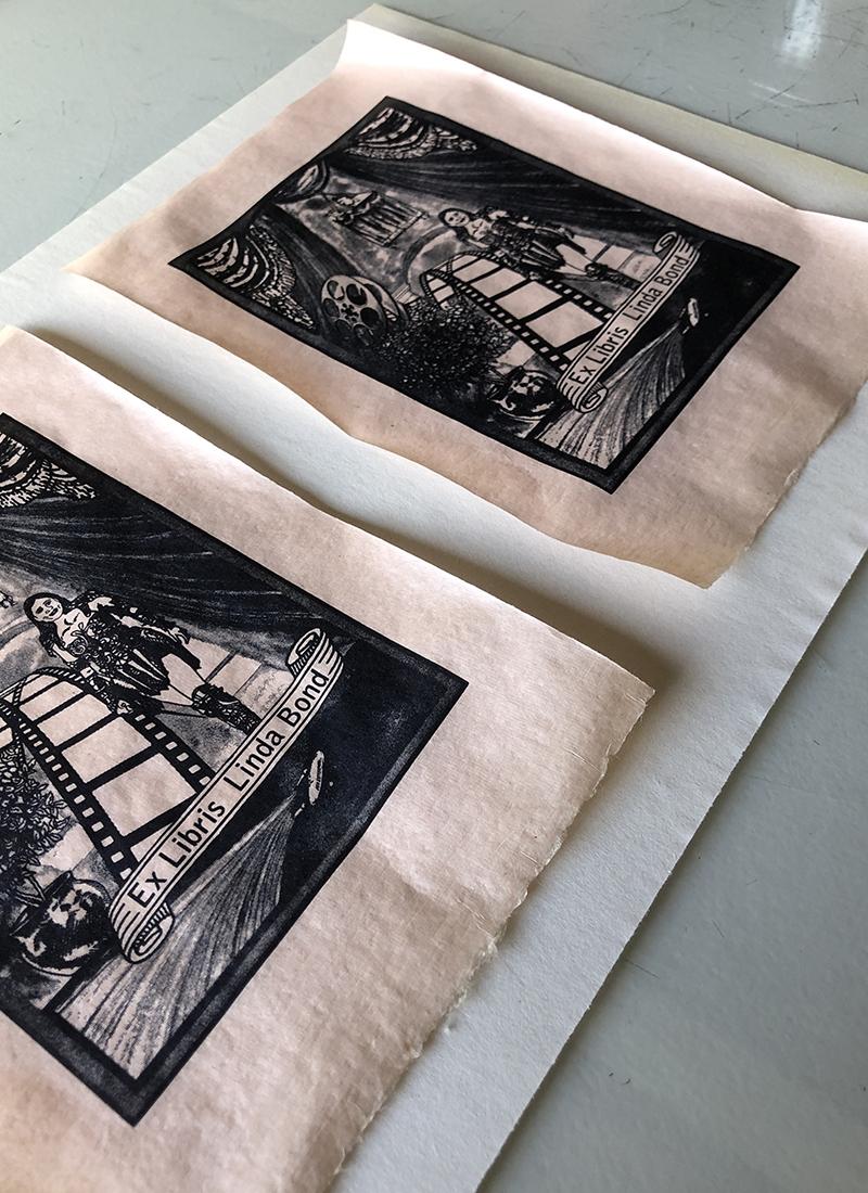 Tip 1: Flattening Prints on Japanese Paper
